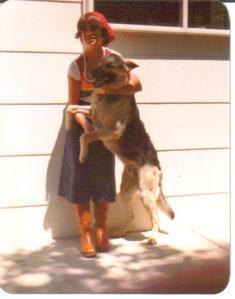 me and Vinne circa 1977